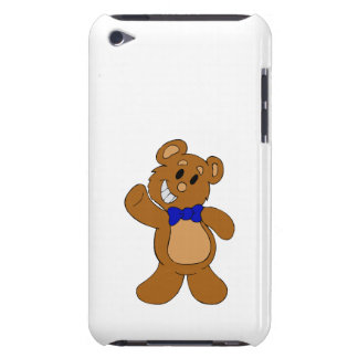 Teddy Bear Waving Barely There iPod Covers