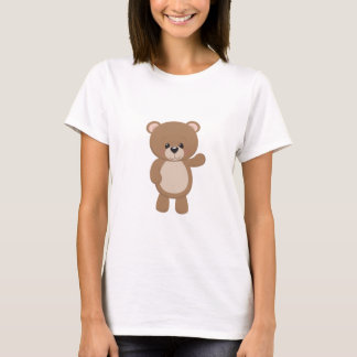 Teddy Bear Waving T-Shirt