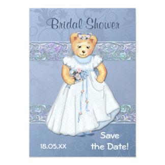 Teddy Bear Wedding Bridal Shower Invitation
