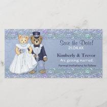 Teddy Bear Wedding Save The Date