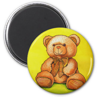 teddy bear with a bow tie refrigerator magnets