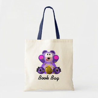 Teddy Bear with honey bee hive book bag