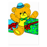 Teddy Bear with Presents,Gifts for Boys Business Cards