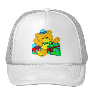 Teddy Bear with Presents,Gifts for Boys Trucker Hat