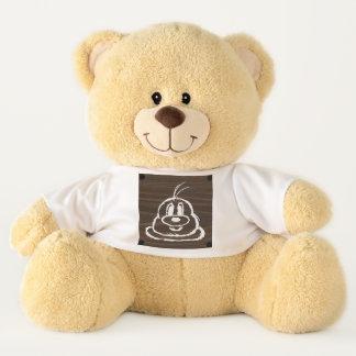 Teddy Bear & Wooden Panel 3 鲍 鲍 (Large)