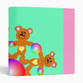 Teddy Bears 3-Ring Binder