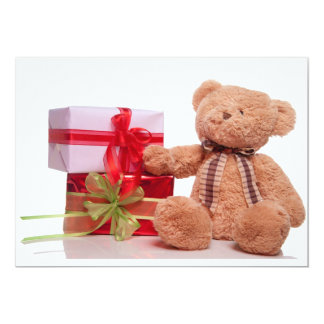 teddy bears and gifts card