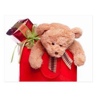 teddy bears and gifts postcard