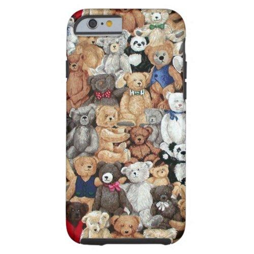 Teddy Bears Tough iPhone 6 Case