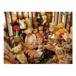 Teddy Bears Collectors Heaven Postcard