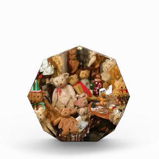 Teddy Bears Collectors Paradise Acrylic Award