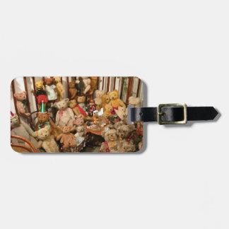 Teddy Bears Collectors Paradise Bag Tag
