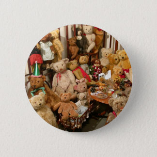 Teddy Bears Collectors Paradise Button