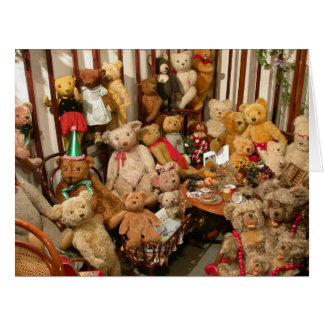 Teddy Bears Collectors Paradise Card