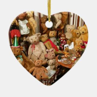 Teddy Bears Collectors Paradise Ceramic Ornament