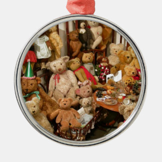 Teddy Bears Collectors Paradise Metal Ornament