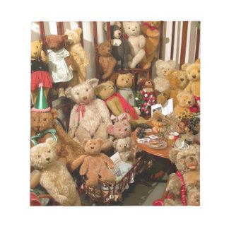 Teddy Bears Collectors Paradise Notepad