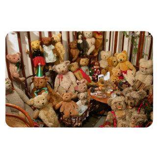 Teddy Bears Collectors Paradise Rectangular Photo Magnet
