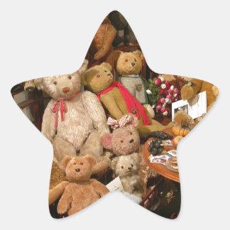 Teddy Bears Collectors Paradise Star Sticker