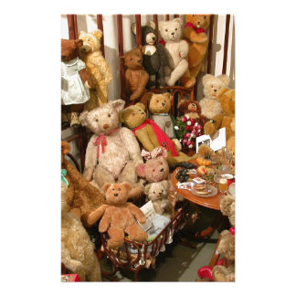 Teddy Bears Collectors Paradise Stationery