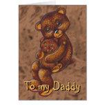 Teddy Bears Father's Day Card