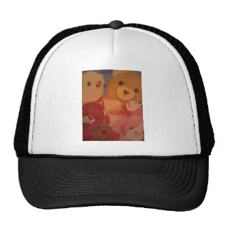 teddy bears trucker hat