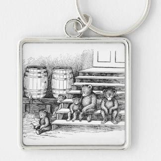 Teddy Bears Have Drunk Too Much Cider Keychain
