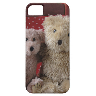 teddy bears in a chair iPhone 5 barely there iPhone 5 Cases