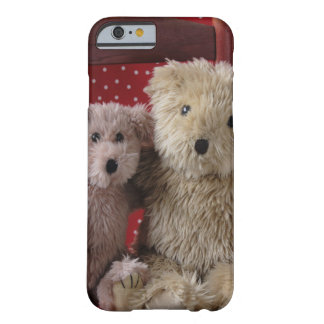 teddy bears in a chair iPhone 6 case barely there