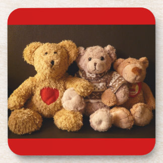 TEDDY BEARS (on multi products) Beverage Coaster