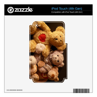 TEDDY BEARS (on multi products) iPod Touch 4G Skins
