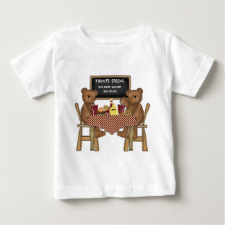 Teddy Bears Out to Lunch Baby T-Shirt