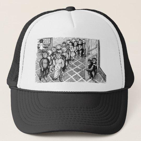 Teddy Bears Pair Up for the Dance Trucker Hat