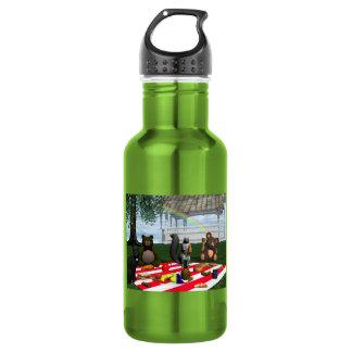 Teddy Bears Picnic 18oz Water Bottle