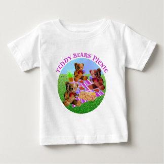 Teddy Bears Picnic Baby T-Shirt