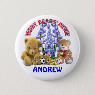 TEDDY BEARS PICNIC  ~  Button