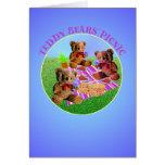 Teddy Bears Picnic Card