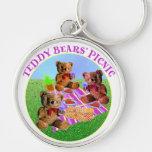 Teddy Bears Picnic Keychains