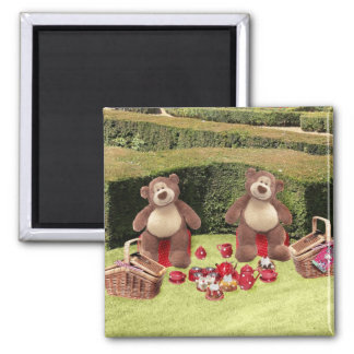 Teddy Bears Picnic Magnet