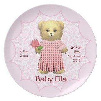 Teddy Bears Picnic Melamine Plate