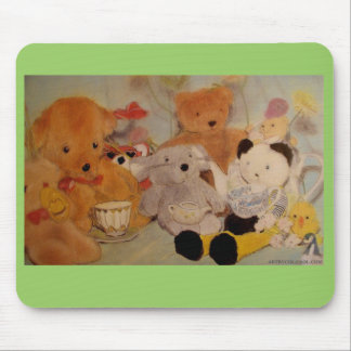 Teddy Bears' Picnic Mouse Mat by Colin Carr-Nall Mouse Pad