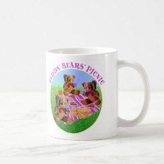 Teddy Bears Picnic Classic White Coffee Mug