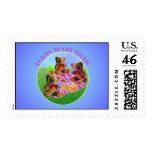Teddy Bears Picnic Postage Stamp