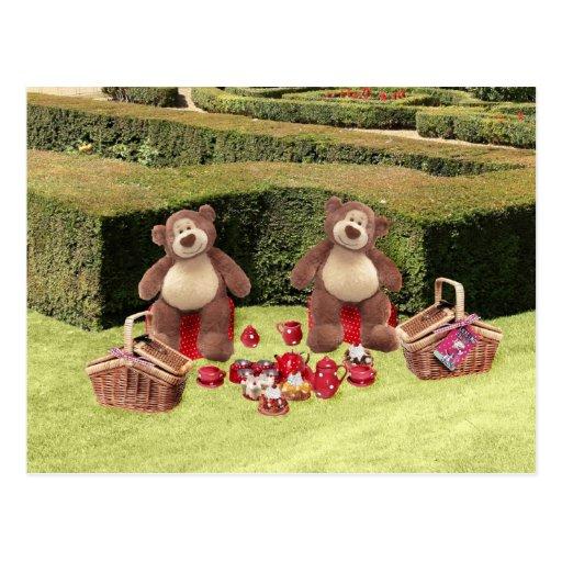 Teddy Bears Picnic Postcard