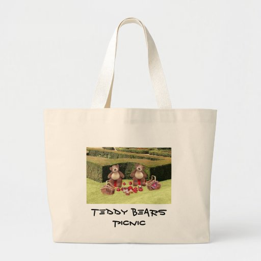 Teddy Bears Picnic Tote Bag