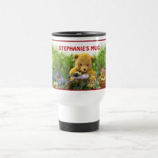 TEDDY BEARS PICNIC ~ Travel mug