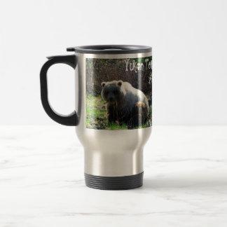 Teddy Bear's Picnic; Yukon Territory Souvenir 15 Oz Stainless Steel Travel Mug