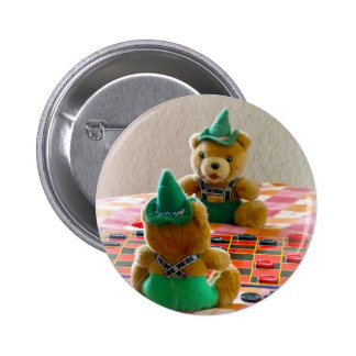 Teddy Bears Pinback Button