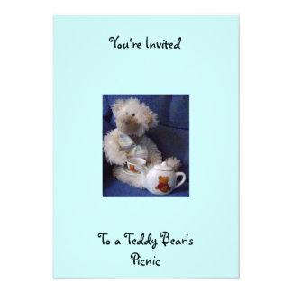 Teddy Bears pinic invite
