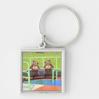 Teddy Bears Playground Keychain